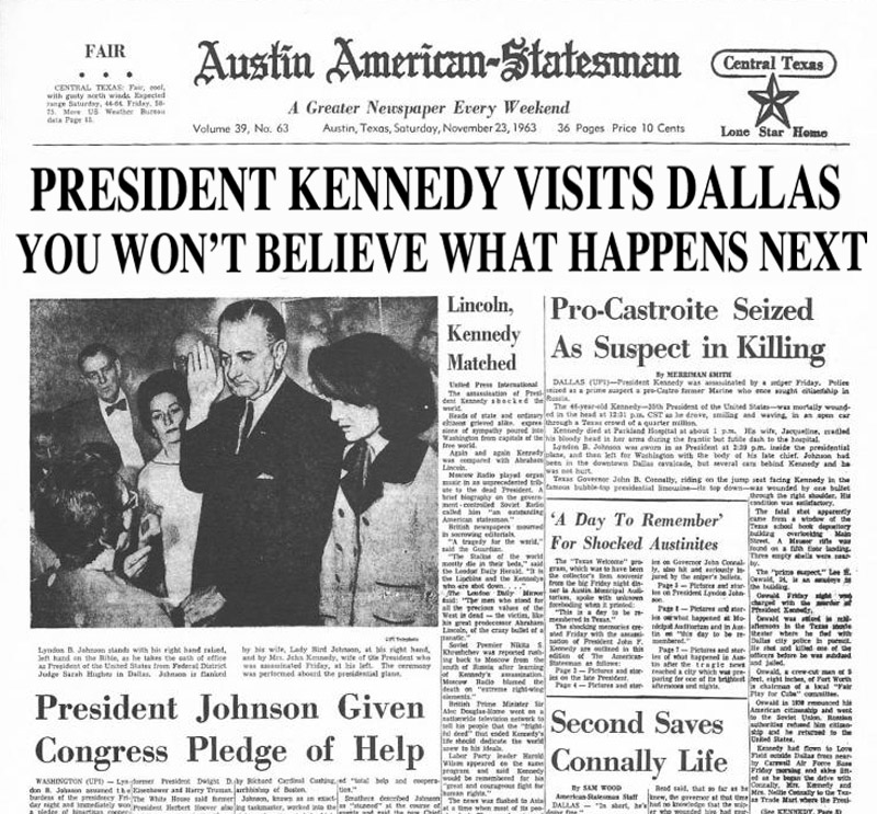 Kennedy headline